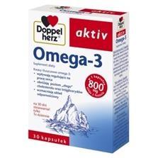 Doppelherz aktiv Omega-3, kapsułki, 30 szt