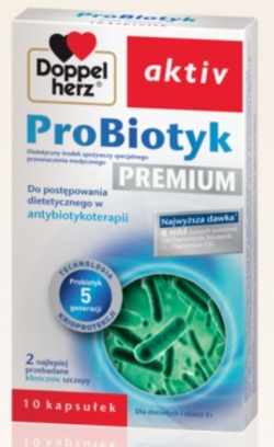 Doppelherz aktiv Probiotyk, kapsułki, 10 szt