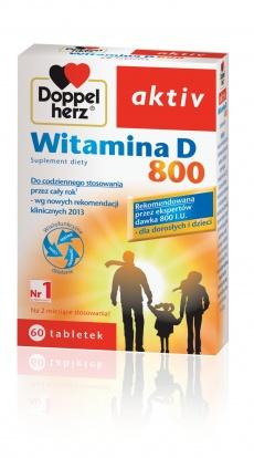 Doppelherz Aktiv Witamina D 800