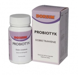 DORSIM Probiotyk, 60 kaps