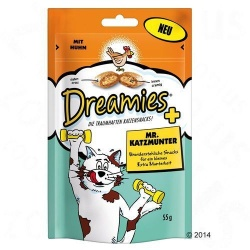 Dreamies 8 witamin, Dreamies, 55 g
