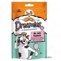 Dreamies Piękna sierść, Dreamies, 55 g