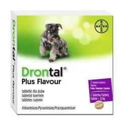 Drontal, 2 tabletki