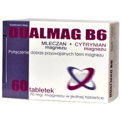Dualmag B6, tabletki, 60 szt