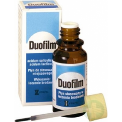 Duofilm, płyn, 15 ml