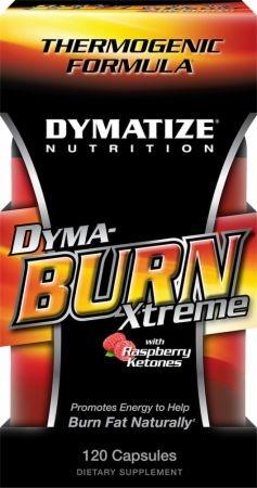 DYMATIZE - Dyma-Burn ( Dyma Burn ) Xtreme Raspberry Ketones - 60kaps