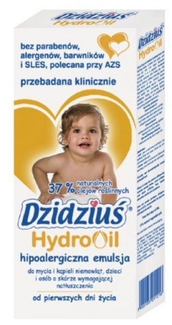 Hipoalergiczna emulsja Dzidziuś HydroOil, 300 ml