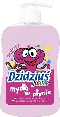 Mydło w płynie Dzidziuś Junior o zapachu truskawki, 265 ml