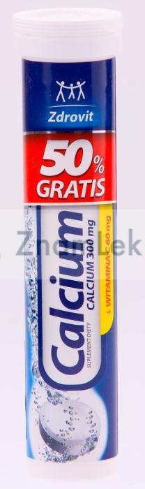 Zdrovit Calcium 300mg+Vitaminum C