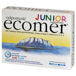 Ecomer Junior Odporność, kapsułki do żucia, 30 szt