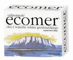 Ecomer Odporność, olej z wątroby rekina grenlandzkiego, kapsułki, 120 szt
