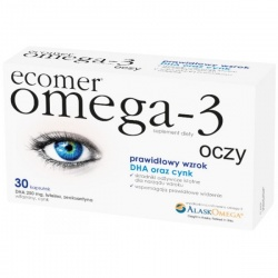 Ecomer Omega-3 oczy, kapsułki, 30 szt