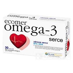 Ecomer Omega-3 serce, kapsułki, 30 szt