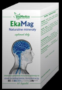 EkaMag – suplement diety, 60 tabletek, 51 g