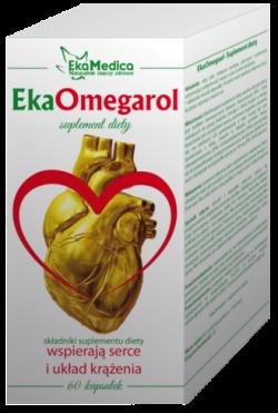 EkaOmegarol – suplement diety, 60 kapsułek, 81 g