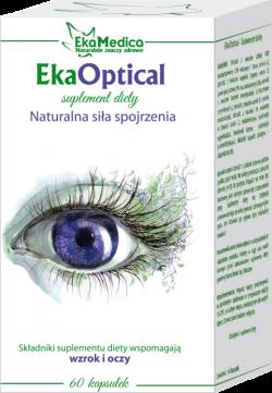 EkaOptical – suplement diety, 60 kapsułek, 31 g