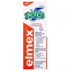 Elmex, płyn do płukania jamy ustnej, Junior (6-12 lat), 400 ml