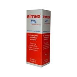 Elmex, żel do fluoryzacji, 25 g