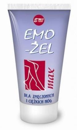 EMO-ŻEL MAX dla zmęczonych i ciężkich nóg, 75 g, 100 g