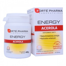 FORTE PHARMA ENERGY ACEROLA 30 TABLETEK
