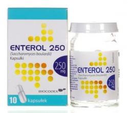 Enterol 250, kapsułki, 250 mg, 10 szt