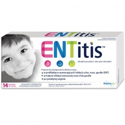 ENTitis, pastylki do ssania, 14 szt
