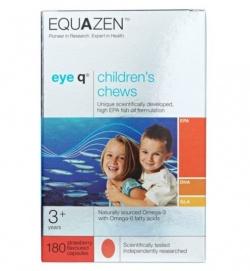 Eye Q, kapsułki do żucia, smak truskawkowy, (import równoległy), 180 szt