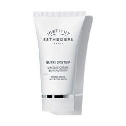 Esthederm Nutri System, kremowa maseczka odżywczo-regenerująca do twarzy, 75 ml