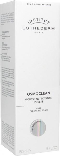 Esthederm Osmoclean, delikatna pianka kremowa do mycia twarzy, 150 ml