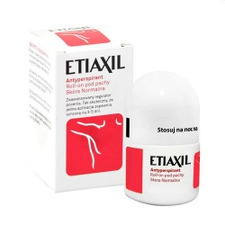 Etiaxil antyperspirant, roll-on pod pachy, skóra normalna, 15 ml