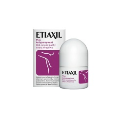 Etiaxil antyperspirant, Plus roll-on, skóra wrażliwa, 15 ml