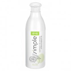 Eva Simple to szampon z limonką o działaniu zapobiegającym przetłuszczaniu się włosów