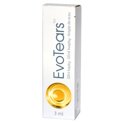 EvoTears, krople do oczu, 3ml