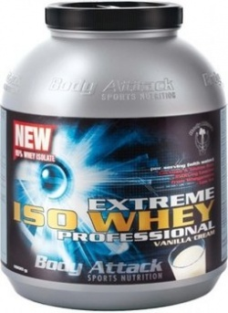 BODY ATTACK - Extreme Iso Whey Professional - 1800g