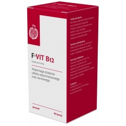 F-VIT B12, ForMeds, proszek 60 porcji, 180 g