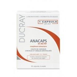 Ducray Anacaps Tri-Activ x 30 kaps