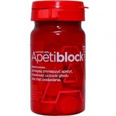 Apetiblock, tabletki do ssania, musujące, 50 szt