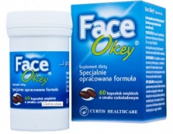 FACE OKEY- 60 tabletek, 5 opakowań