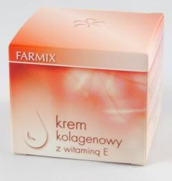 Farmix, krem kolagenowy z witaminą E, 50 ml