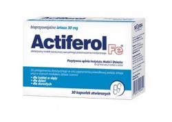 actiferol fe 30mg kapsułki