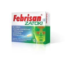 Febrisan Zatoki, 12 tabletek