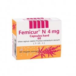 Femicur N kapsułka twarda 4 mg