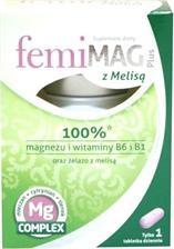 FemiMag Plus z melisą