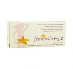 Feminella Vagi C , tabletki dopochwowe, 6 szt