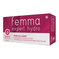 Femma Expert Hydro, globulki dopochwowe, 7 szt