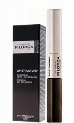 FILORGA LIP-STRUCTURE SERUM UJĘDRNIAJĄCO-WYPEŁNIAJĄCE DO UST I OKOLIC UST, 2x4,5 ml