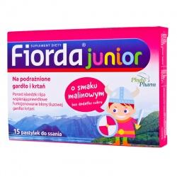 Fiorda Junior, tabletki, 15 sztuk