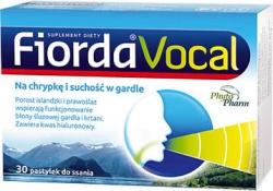 Fiorda Vocal, pastylki, 30 sztuk