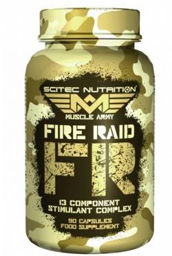 SCITEC - Fire Raid - 90kaps