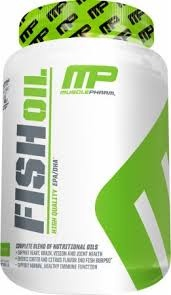 MUSCLE PHARM - Fish Oil - 90kaps